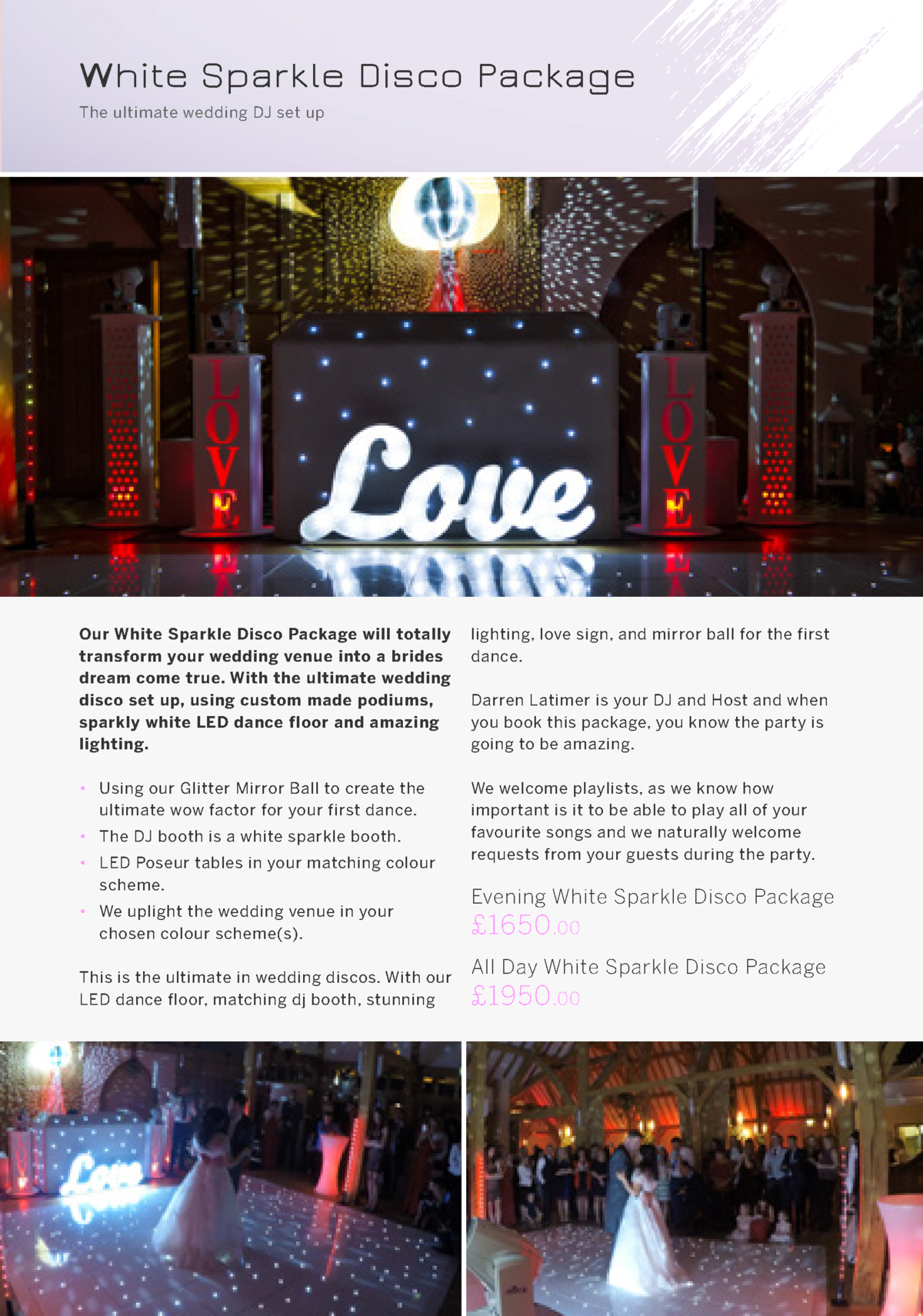 LED Dance Floor Hire in Berkshire, Hampshire \u0026 Surrey
