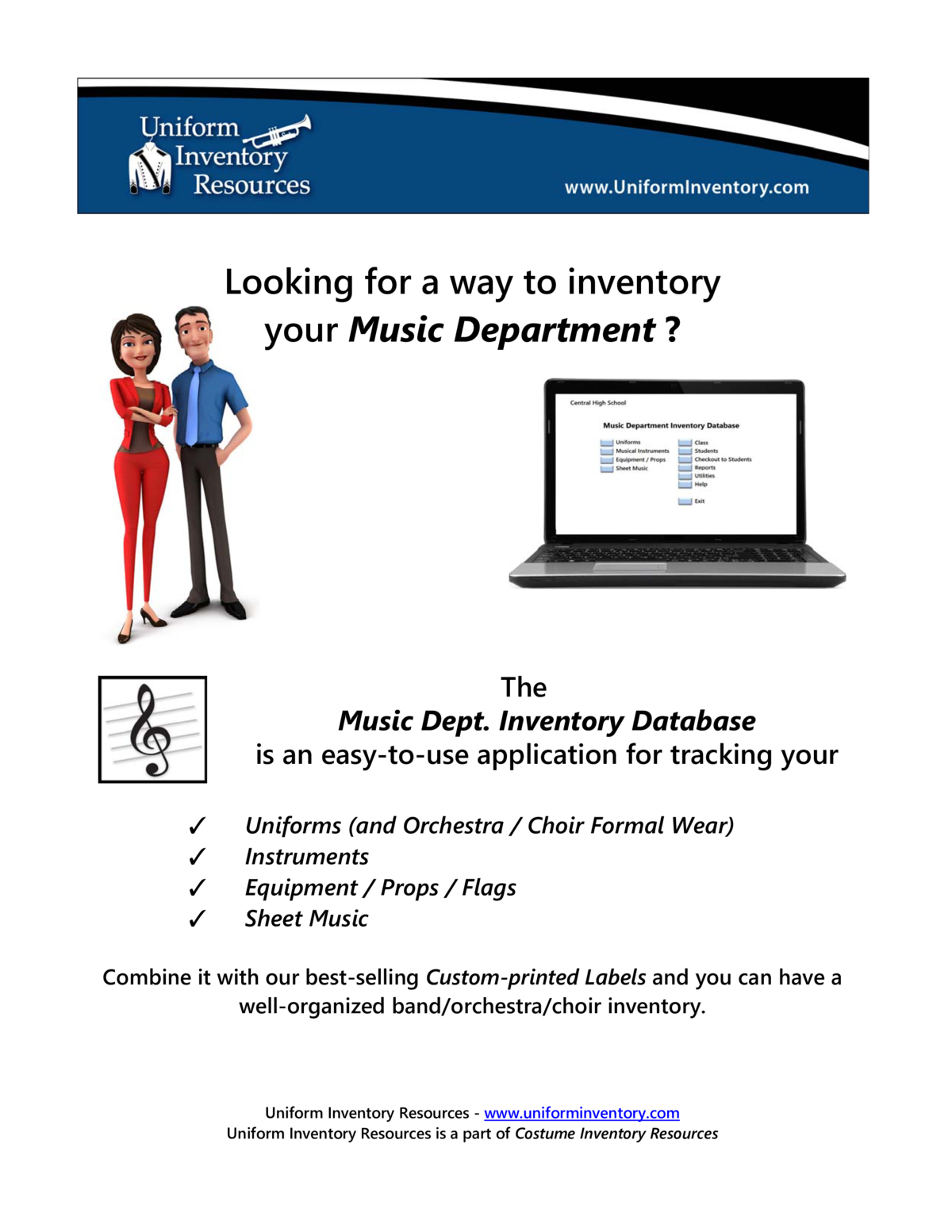 Music Dept Inventory Database